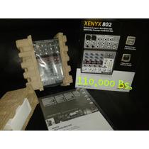 Mixer Consola Behringer Xenyx 802 Premium 8 Canales 2 Bus