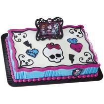 Monster High Decoracion Fiesta Pastel Pastelitos Rock Girls