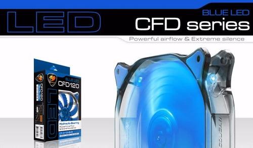 Resultado de imagem para VENTILADOR Cougar Gaming CFD 120mm LED BluE