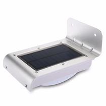 Lampara Led 16 Celda Solar Exteriores Sensor Movimiento
