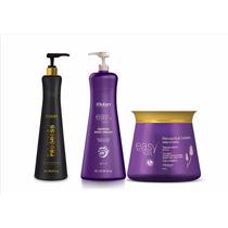 Progressiva Sem Formol Mutari Progress + Kit Shampoo E Masc
