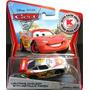 Disney Cars 2 Lightning Mcqueen With Metallic Finish Mattel