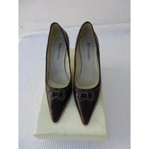 Zapatos De Cuero De Mujer - Batistella