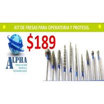 Fresas Dentales Diamante Operatoria Y Protesis