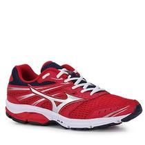 Tênis Running Masculino Mizuno Wave Zest - Vermelho
