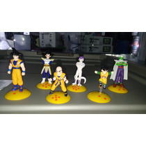 Bolsa Con 100 Mini Figuras De Dragon Ball Z