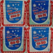 Fralda Descartável Nanny P Com 300 Fraldas - Baby