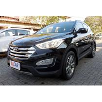 Hyundai Santa Fe 3.3 Gls 4x4 7 Lug C/ Teto 2014 Preto