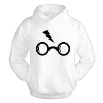 Blusa Moletom Harry Potter Canguru Com Capuz