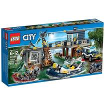 Brinquedo Lego City Delegacia Da Polícia Do Pântano 60069