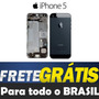 Carcaça Completa Iphone 5 5g Original Preta Envio Ja
