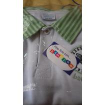Conjunto De Bebe Short Camisa Casual Marca Bambino Varon