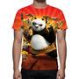 Camisa, Camiseta Kun Fu Panda - Estampa Total