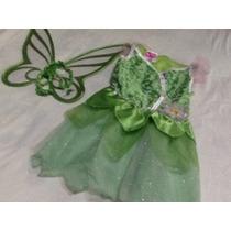 Disney Campanita Vestido Para Niña 4 Años