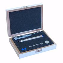 Caneta Peeling Diamante Kit Aço Inoxidável Com 5 Ponteiras