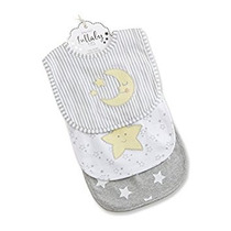 Bebé Aspen Lullaby 3 Piezas Babero Set De Regalo Por Baby
