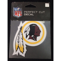Nfl Washington Redskins Pieles Rojas Calcomanía Perfect Cut