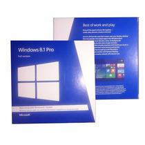 Windows 8.1 Pro 32/64-bit Retail Caja Sellada Full Version