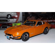 1:18 Datsun 240z 1971 Naranjal Maisto Nissan