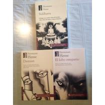 Lobo Estepario / Demian / Siddarta / Herman Hesse 3 Libros
