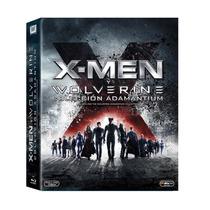 X-men Y Wolverine Coleccion Adamantium En 6 Peliculas Bluray