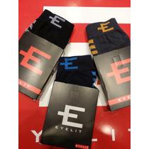 Calzoncillo Eyelit Boxer Algodón/lycra Ropa Interior Pack X3