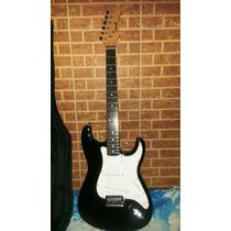 Guitarra Eléctrica Marca Stagg S300-bk, Amplificador Y Acces