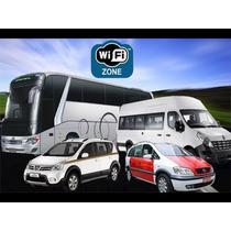 Modem Roteador 3g 4g Wifi Carro Van Onibus + Kit Veicular