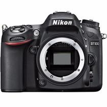 Câmera Nikon D7100 Dslr (apenas O Corpo) Nova Com Garantia