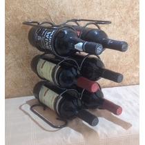 Adega, Suporte Ou Aramado Para 6 Garrafas De Vinho