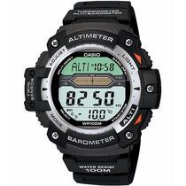 Relógio Casio Outgear Sgw-300 Altimetro Barometro Term. Pt