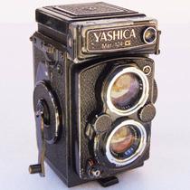 Maquina Fotográfica Câmera Yashica Mat 124 G Objeto Antigo