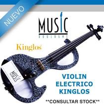 Kinglos Violin Electrico - Bm Music Boulogne -