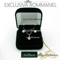 Rommanel Pingente Brinco Ponto De Luz 540102 520185 531314