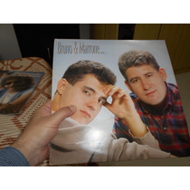 Lp - Bruno E Marrone - Vol 1 - 1º Lp - C/ Encarte Excelente