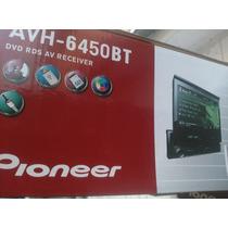Reproductor Pioneer 1 Dim Pantalla Tactil Avh-6450bt Bluetoo