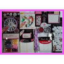 Kit De Decoracion / Uñas /nail Art --super Completo