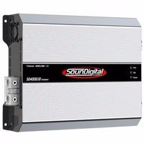 Módulo Soundigital Sd4000.1d Sd4000 Sd4000.1 4000w Rms