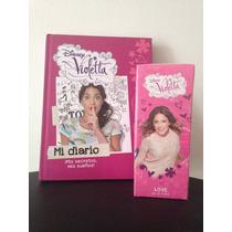 Oferta Combo Violetta De Disney, Perfume Y Diario