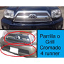 Inserto Grill De Parrilla Cromada Decorativa Toyota 4runner