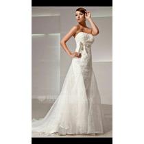 Cauda Para Vestido De Noiva Em Organza.