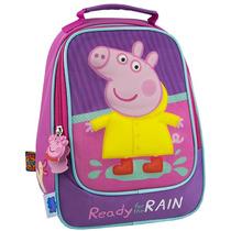 Lonchera Escolar De Moda Peppa Pig Pp56918d Morado Urbania