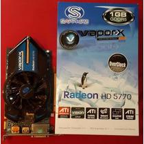 Ati Sapphire Radeon Vapor-x Hd 5770 1g D5
