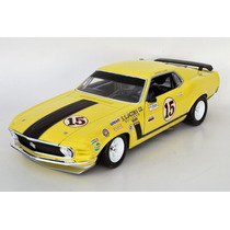 Ford Mustang Boss 302 1970 Escala 1:18 Welly
