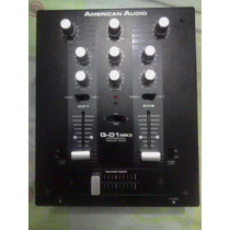 Mezclador American Audio Q-d1 Mkii