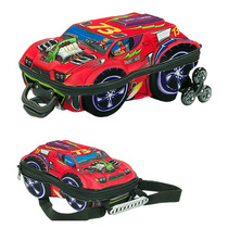 Mochila Escolar Mochilete 3d Carro Thunderbolt Maxtoy Lanche
