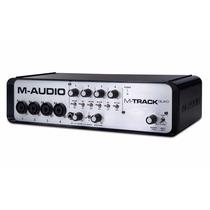 M-audio M-track Quad + Pro Tools Express Ilok 2 + Ignite +nf
