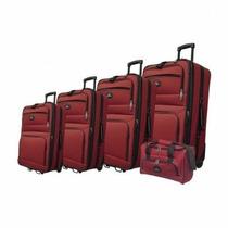 Set Equipaje Ojo Espía A Rd Cinco Luggage Set - Rojo