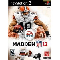 Patch Madden Nfl 12 Play2 Game Futebol Americano