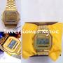 Reloj Casio F91w Vintage Retro Unisex Digital. Solo Dorado.